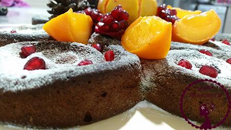 کیک-خرمالو